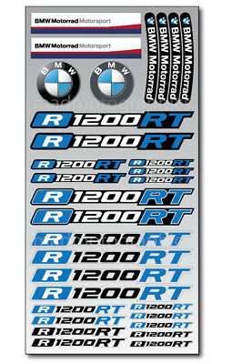 R1200RT motorcycle quality helmet fairing stickers decals bmw R1200 RT motorrad for sale  Shipping to Canada