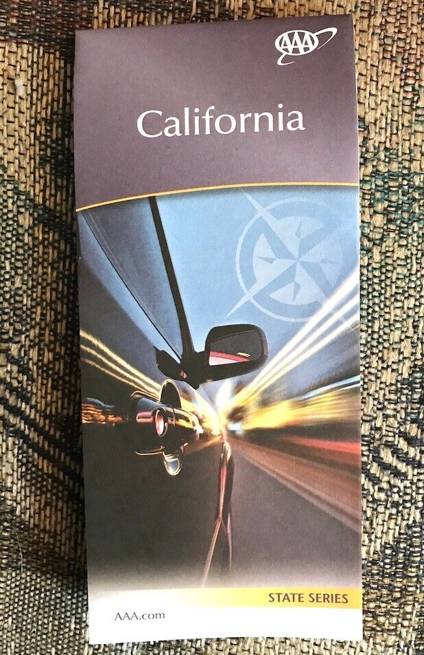 CALIFORNIA STATE SERIES HIGHWAY MAP AAA 12/19-3/21 NEW - $5.75