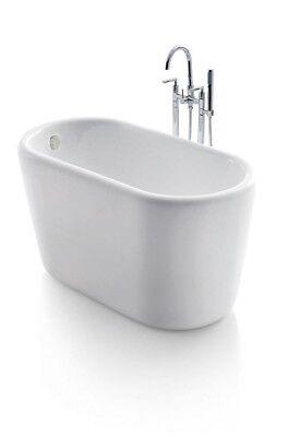 "Bathtub Freestanding - Acrylic Bathtub - Soaking Tub - Giano Bathtub - 51"""