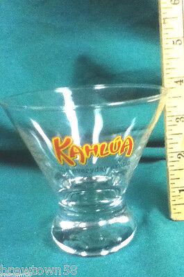 Kahlua drink glass bar glasses 1 rocks cocktail glass glassware BE7
