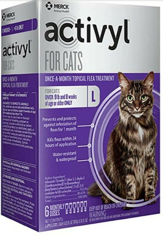 Activyl Cats over 9lbs, 3-pack