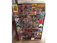 Two Marvel Comic Pictures