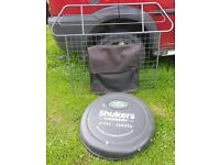 Freelander 1 .dog guard and wheel cover