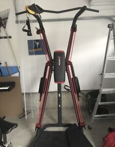 Exercise equipment: Power Tower with resistance bands