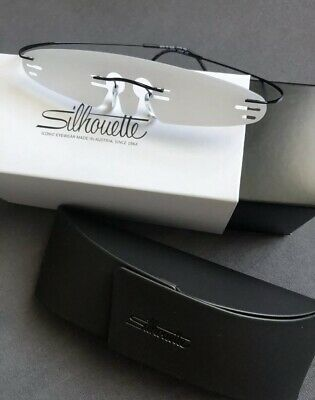 Silhouette Optical Eyeglasses Frames 5515/70 9040 19/50 Black TMA MUST COLL (Eyeglass Frames 2017)