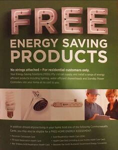 Free installation of energy saving products Hazelwood Park Burnside Area Preview