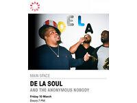 2x De La Soul Tickets Roundhouse Camden London