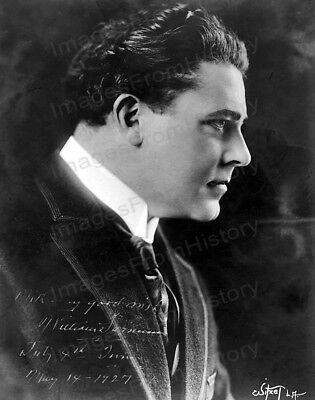 8X10 Print William Farnum Profile Portrait 1927  Wfaa