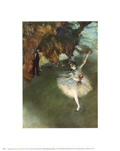 Edgar-Degas-Ballerina-The-Star-8x10-In-Art-Print