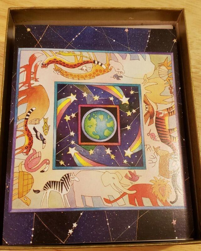 🎄Christmas 🎄 Cards 20pc Vtg Marcel Schurman SET World Peace🌎☮ Animals Holiday