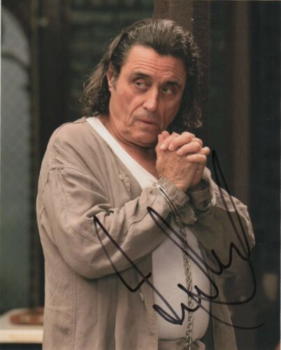 Ian McShane American Gods Autographed Signed 8x10 Photo COA #A6