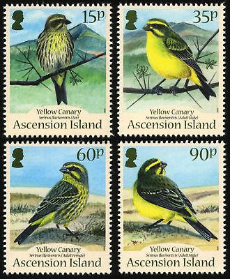 Ascension 2010 Canaries 4v set  SG 1082-5 MNH