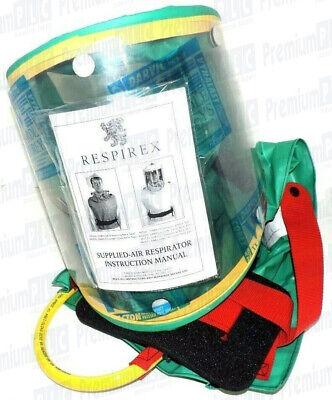 Respirex Simplair Simh056 Supplied Air Respirator Niosh Hood Asimh05673 New