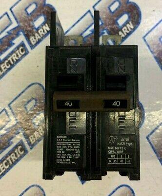 480 VOLT Circuit Breaker 60 Amp GE TED124060 2 Pole WARRANTY Black Face