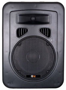 QFX SBX-1008BT Wireless Bluetooth 800W Speaker with Built-In Amplifier