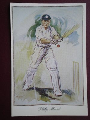 POSTCARD CRICKETER - CHARLES P MEAD HAMPSHIRE - KARIZZMA SERIES 1