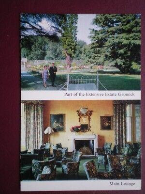POSTCARD DUNBARTONSHIRE LOCH LOMOND - LOMOND CASTLE HOTEL