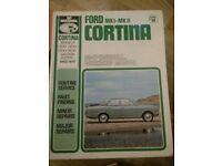 SP manual series no 68 ford mk1-mk 11 cortina 62-70