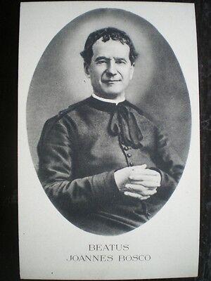 POSTCARD BEATUS JOANNES BOSCO RELIGIOUS