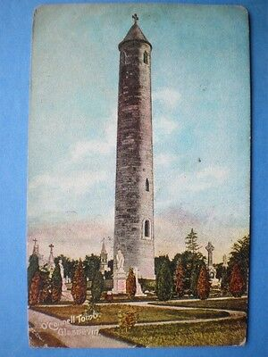 POSTCARD DUBLIN GLASNEVIN O'CONNELL TOWER 1910'S