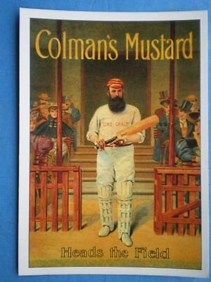 POSTCARD  COLMANS MUSTARD - HEADS THE FIELD