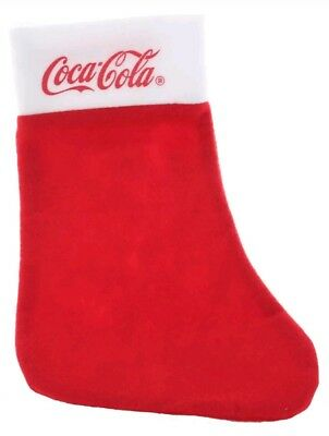 Coca-Cola Nikolaus Stiefel Weihnachtsmann Santa Clause Weihnachten Socke Strumpf