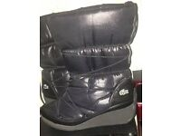 WOMENS LACOSTE BOOTS SIZE 8