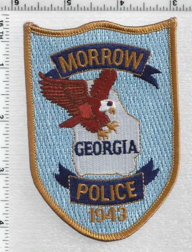 Morrow Police (Georgia) 5th Issue Shoulder Patch