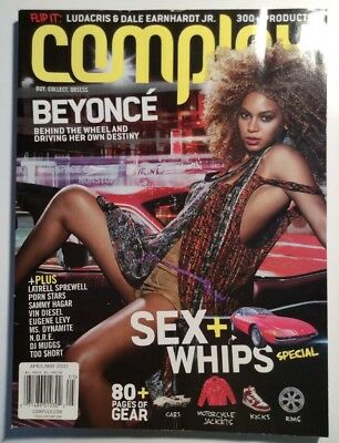 Complex Magazine Beyonce Ludacris Flip Cover April May 2003 Issue Sex Girls Cars