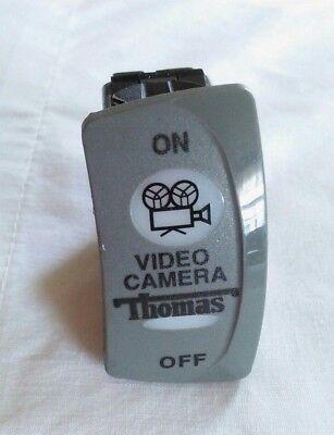 Thomas Built Buses TBB52003432 Video Camera Rocker Switch SPST -On/Off -12V Lamp