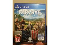 Far cry 5 ps4 brand new