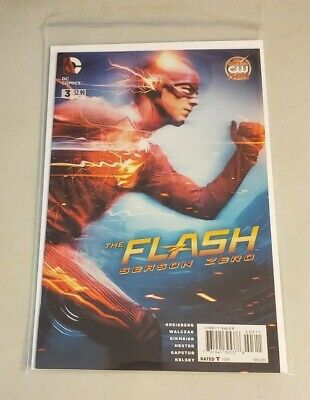 The Flash Season Zero #3 2015 NM or better CW TV SERIES (Best Comic Tv Series)