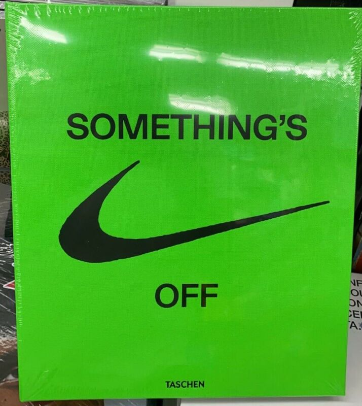 VIRGIL ABLOH'S NIKE ICONS-TASCHEN-SOMETHING'S OFF-BOOK OFF-WHITE-BRAND NEW
