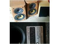 Sony speakers