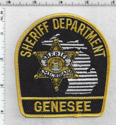 Genesee County Sheriff (Michigan) 4th Issue Shoulder Patch