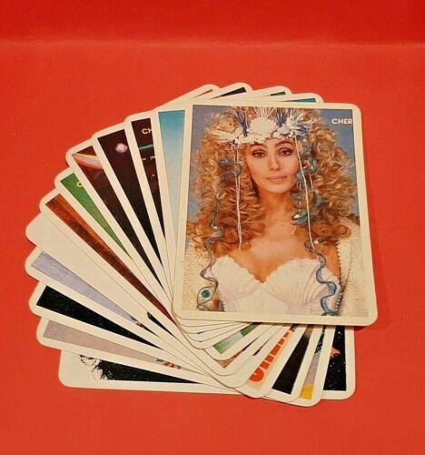 CHER Complete Calendar Cards Set; Mint Set of 12;  Pop Music