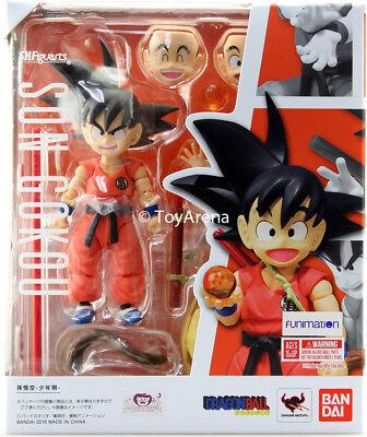 S.H. Figuarts Dragonball Kid Goku Action Figure BANDAI US SELLER IN STOCK