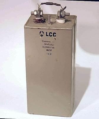 Lcc Laser 50uf 2500vdc Energy Discharge Capacitor Hv Power Supply Cap Pulse