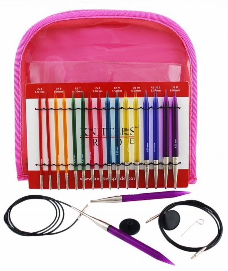 Knit pro Trendz Acryl Stricknadel-Set 3,5-8,0mm 50618
