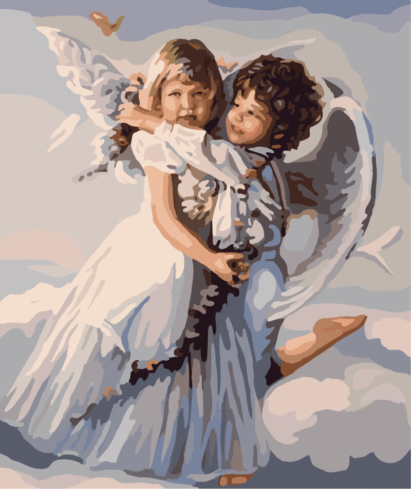 Angels Kissing Angels Home Wall Decor Outlet Cover Home Garden Home Decor