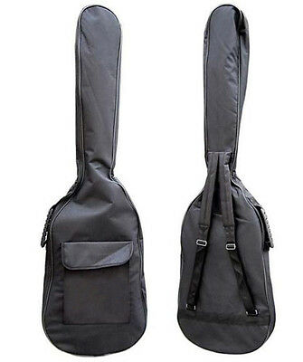 Double Straps Padded Electric Bass Guitar Bag Soft Case Gig Bag + 10 picks