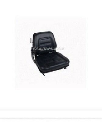 Universal Forklift Vinyl Seat With Switch Parts Nissan