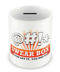 Swear-Jar-MONEY-BOX-Gift-Idea-Dad-Son-Cursing-Naughty-Uncle-Savings-Great-45