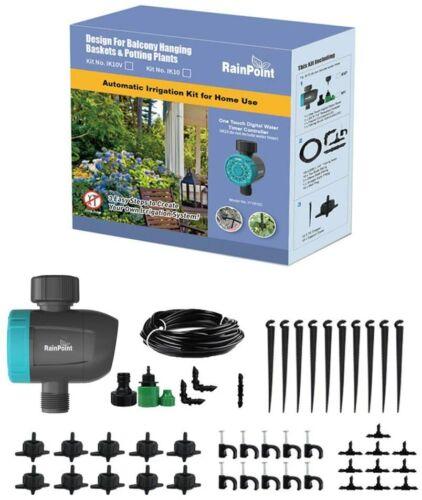 Rainpoint IK10V DIY Drip Irrigation Kit Plant Watering System