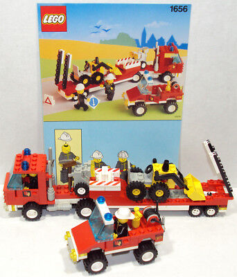 LEGO 1656 Evacuation Team City Town Set 100% Complete With Instructions