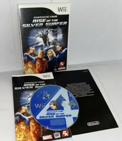 Wii - Fantastic Four: Rise of the Silver Surfer (Nintendo Wii, 2007)