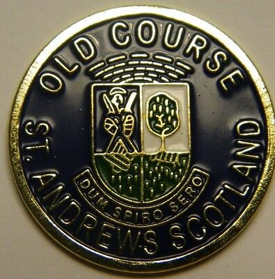 St Andrews Old Course Magnetic Golf Ball Marker - Incredible Detail + Bonus  Magnetic Ball Marker