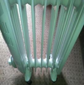 Portable oil 7 fin radiator