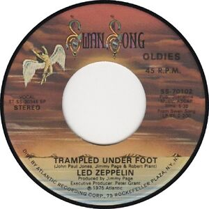 LED ZEPPELIN Trampled Underfoot 1975 USA 7