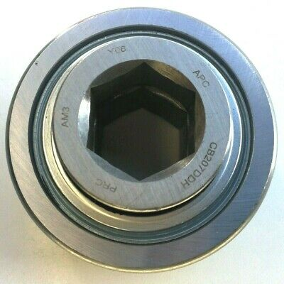 Premium Cb207ddh Ag Conveyor Bearing 1.0886 Hex Bore 78mm Od Re-lube Hd Type